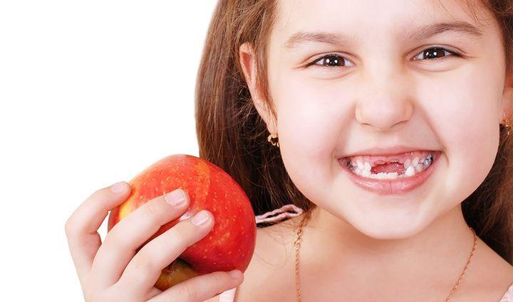 Выпадение зубов и яблоки