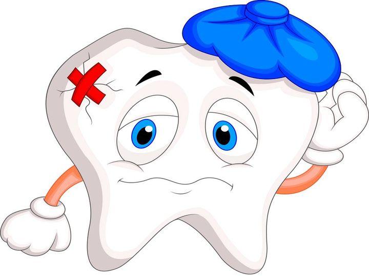 Залеченный зуб