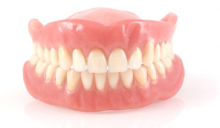 Цельные зубные протезы