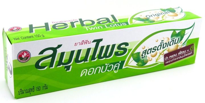 Twin Lotus Herbal Tootpaste