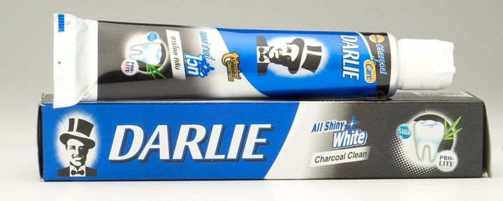 DARLIE CHARCOAL WHITE