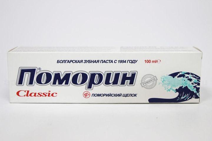 Зубная паста «Поморин»