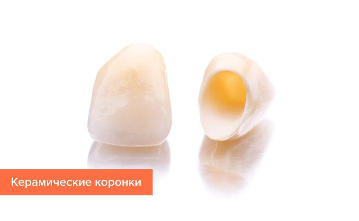 Коронки из керамики