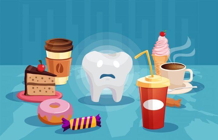 Вредная для зубов еда