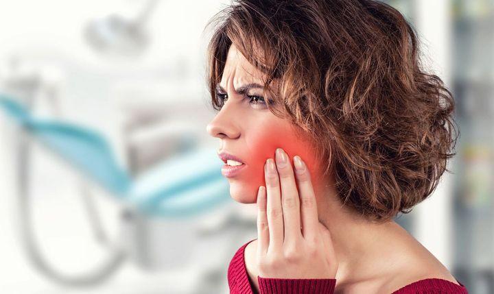 Зубная боль при надавливании