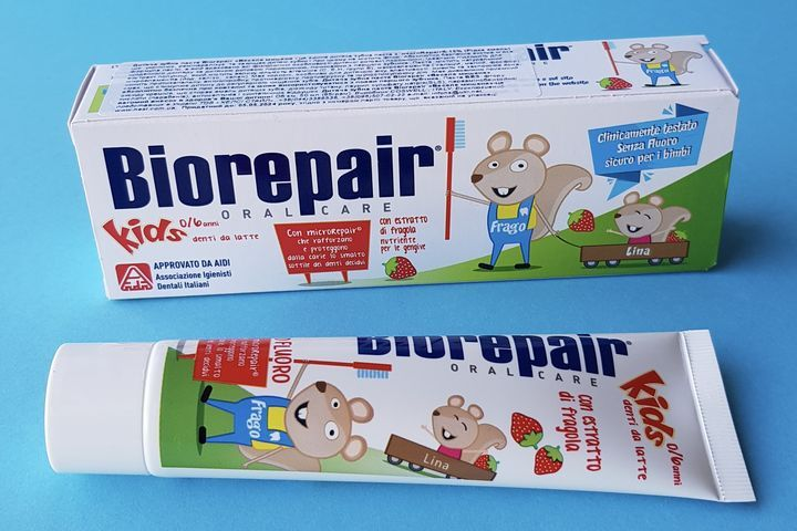Зубная паста Biorepair kids и junior