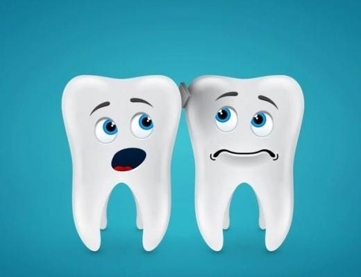 Крошатся зубы
