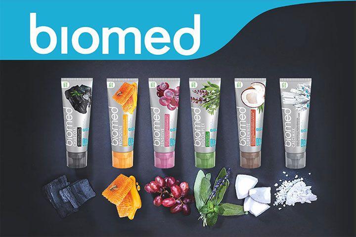 Ассортимент зубных паст Biomed
