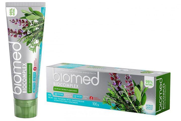 Зубная паста Biomed Biocomplex
