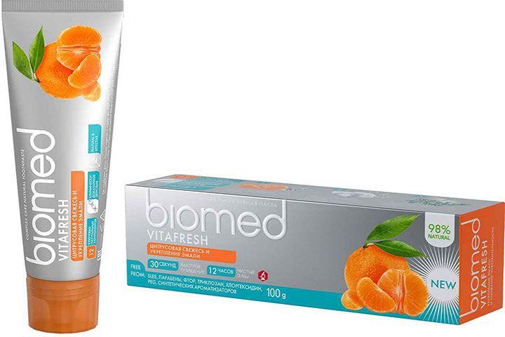 Зубная паста Biomed Vitafresh