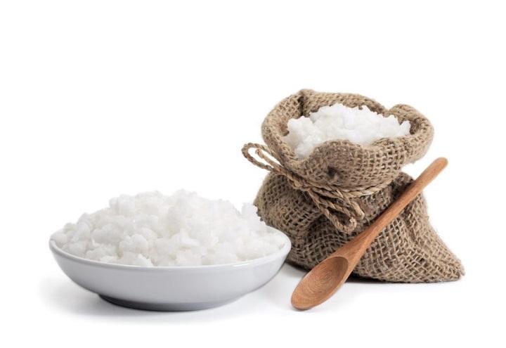 Морская соль для чистки зубов