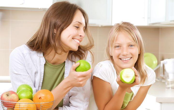 Яблоки и зубы