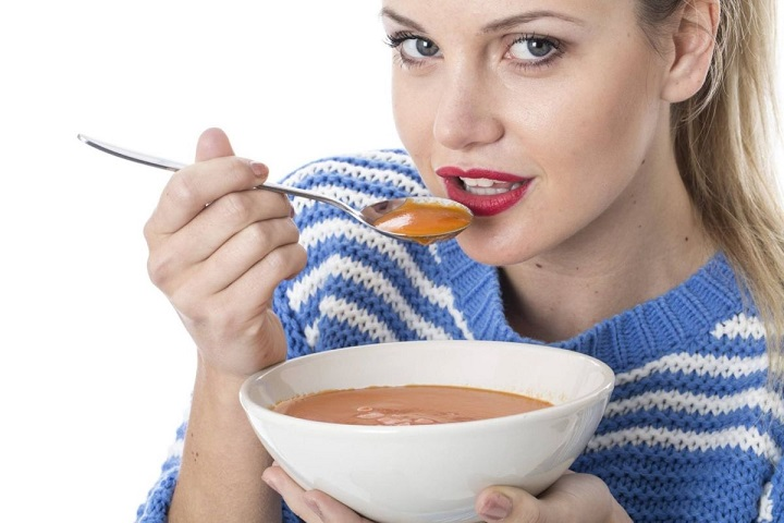 Употребление пюреобразной пищи